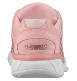 K-Swiss Hypercourt Express Coral/White Junior Tennis Shoes