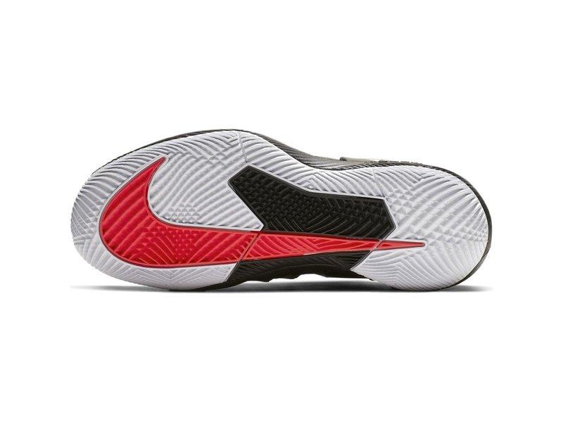 Nike Vapor X Black/Crimson Junior Tennis Shoes