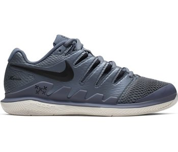 Nike Women's Zoom Vapor X Maria Metallic Blue/Black Tennis Shoes