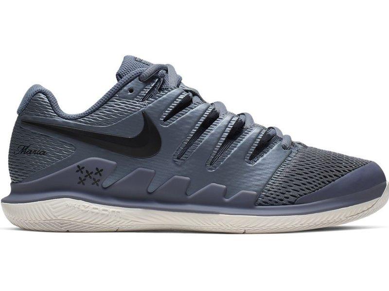 Nike Women's Zoom Vapor X Maria Metallic Blue/Black Tennis Shoes