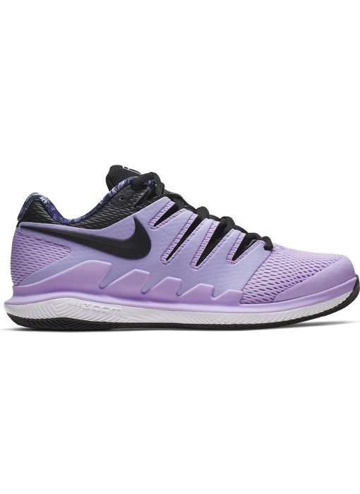 Nike Women's Zoom Vapor X Purple/Black Tennis Shoes