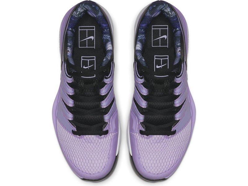 Nike Women's Zoom Vapor X Purple/Black Tennis Shoes