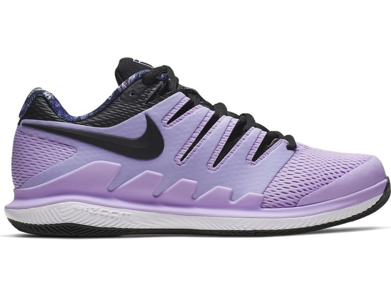 Nike Women's Zoom Vapor X WIDE Purple/Black Tennis Shoes
