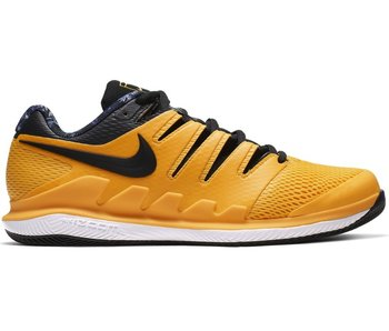 Nike Men's Zoom Vapor X Gold/Black Tennis Shoes