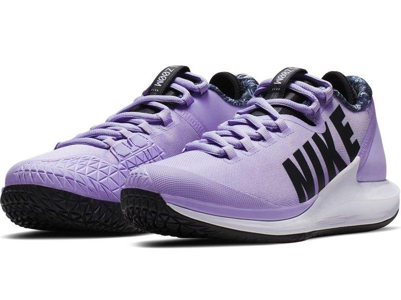 Nike Women's Court Air Zoom Zero Purple Agate/Black Tennis Shoes