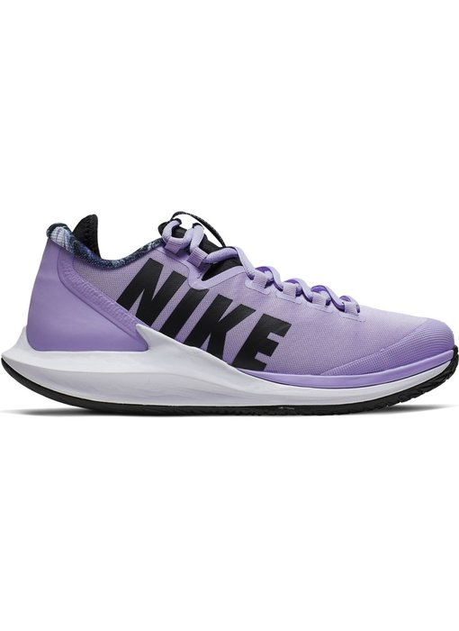 Nike Women's Court Air Zoom Zero Purple Agate/Black Tennis Shoes