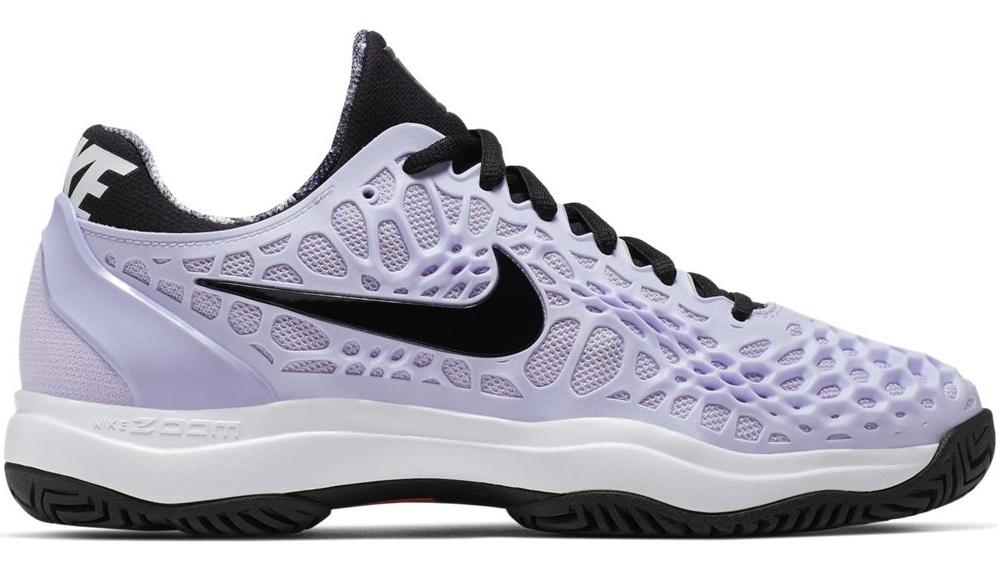 addad8e95b Women's Nike Air Zoom Cage 3 Purple/Black Tennis Shoes