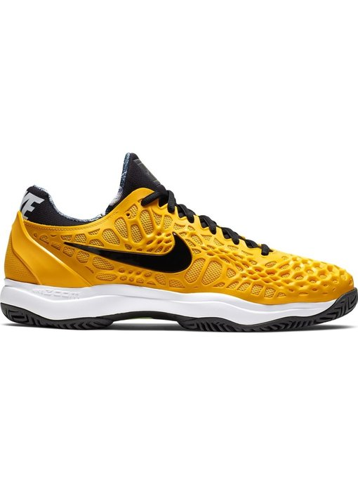 Nike Men's Zoom Cage 3 University Gold/Black Tennis Shoes