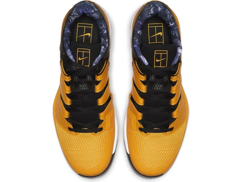 Nike Men's Zoom Vapor X University Gold/Black WIDE Tennis Shoes