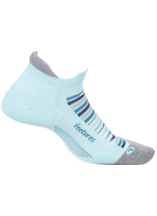 Feetures Elite Max Cushion No Show Tab Socks Fiji Large
