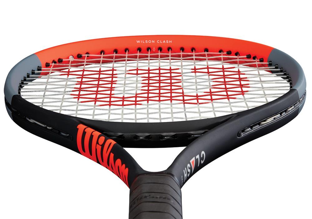 Wilson Clash 98 tennis racquet front view