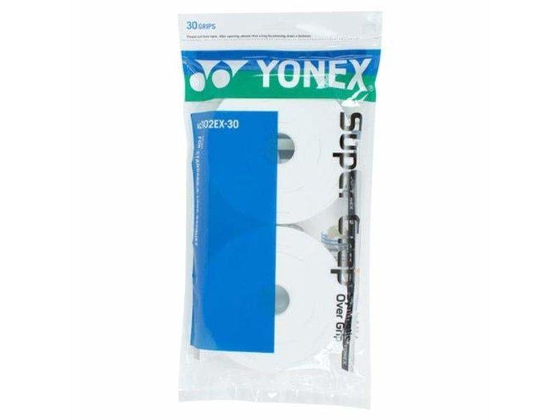 Yonex Super Grap 30 Overgrip Pack White