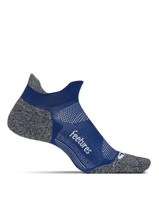 Feetures Elite Light Cushion No Show Tab Socks Sapphire Large