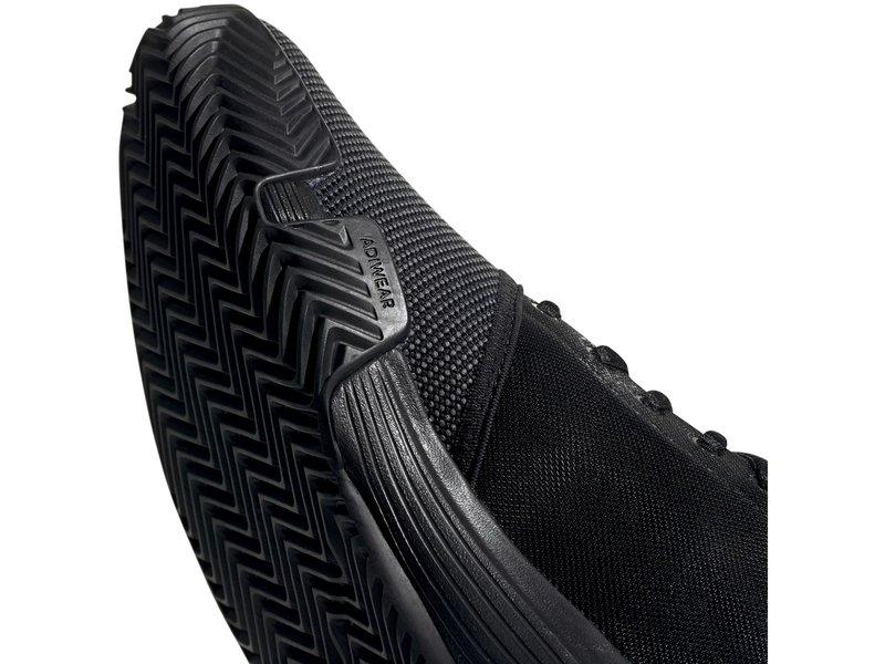 Adidas GameCourt Men's Tennis Shoes Charcoal Black