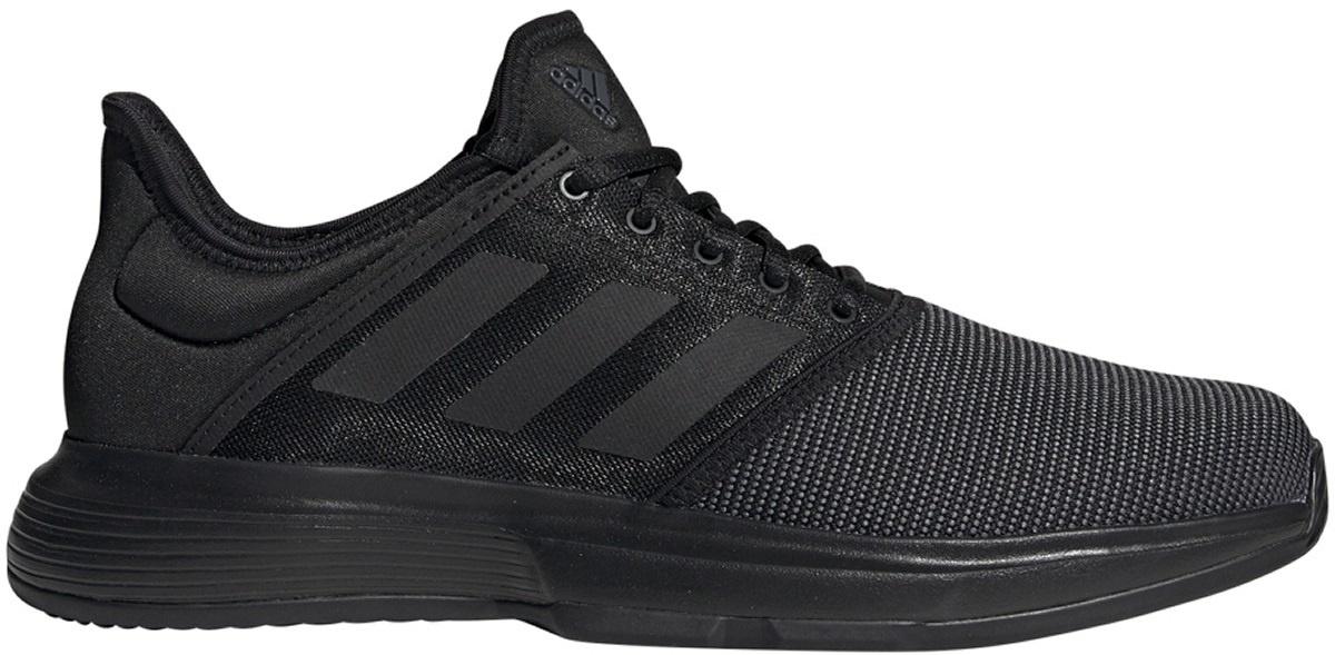 Shopping > men's gamecourt tennis shoes black |