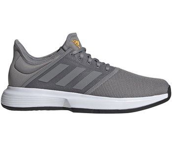 Adidas GameCourt Men's Tennis Shoes Grey/Black