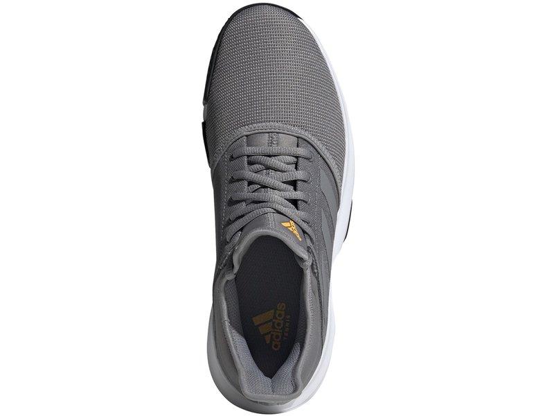 Adidas GameCourt Men's Tennis Shoes Grey/Black