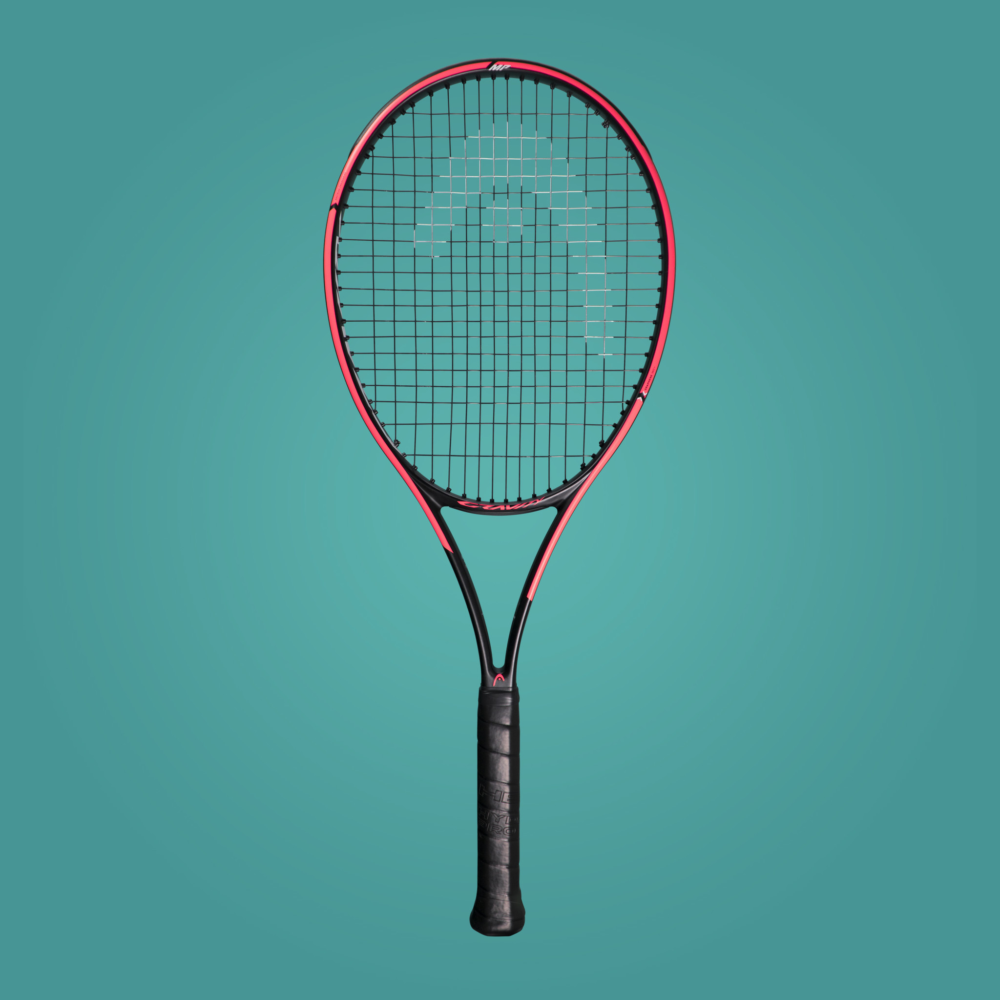 Head Gravity MP Pro Tennis Racquet side view