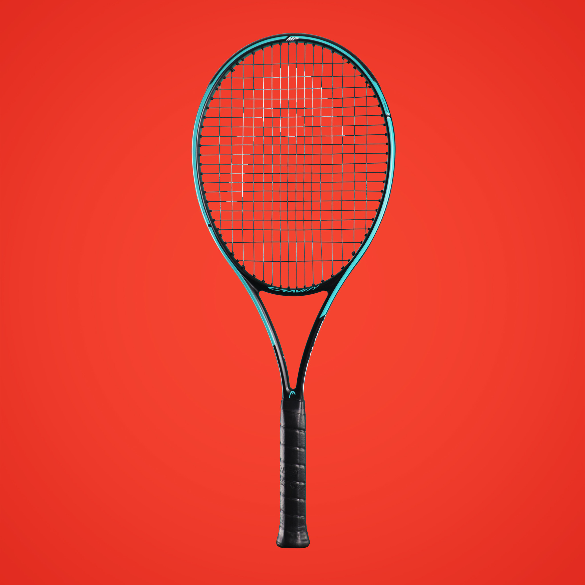 Head Gravity Tennis racquets mp and pro zoomed in view