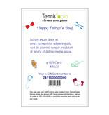 TennisTopia Gift Card  $500