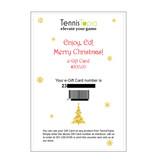 TennisTopia Gift Card  $250