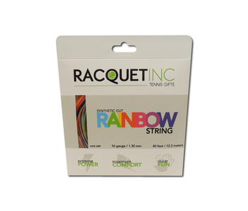 Racquet Inc Rainbow Synthetic Gut 16 gauge