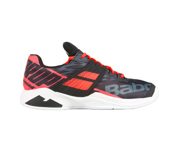 Babolat Men's Propulse Fury Tennis Shoes Black/Fluo Red