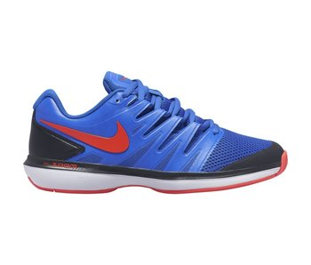Nike Men's Zoom Prestige Racer Blue/Crimson Tennis Shoes