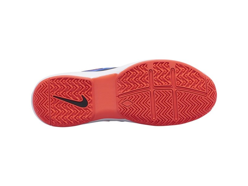 Nike Men's Zoom Prestige Racer Blue/Crimson Tennis Shoes