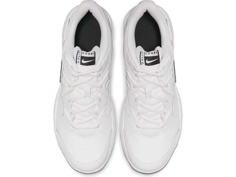 Nike Men's Court Lite 2 Tennis Shoes White/Black