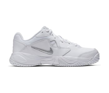 Nike Women's Court Lite 2 Tennis Shoes White/Silver