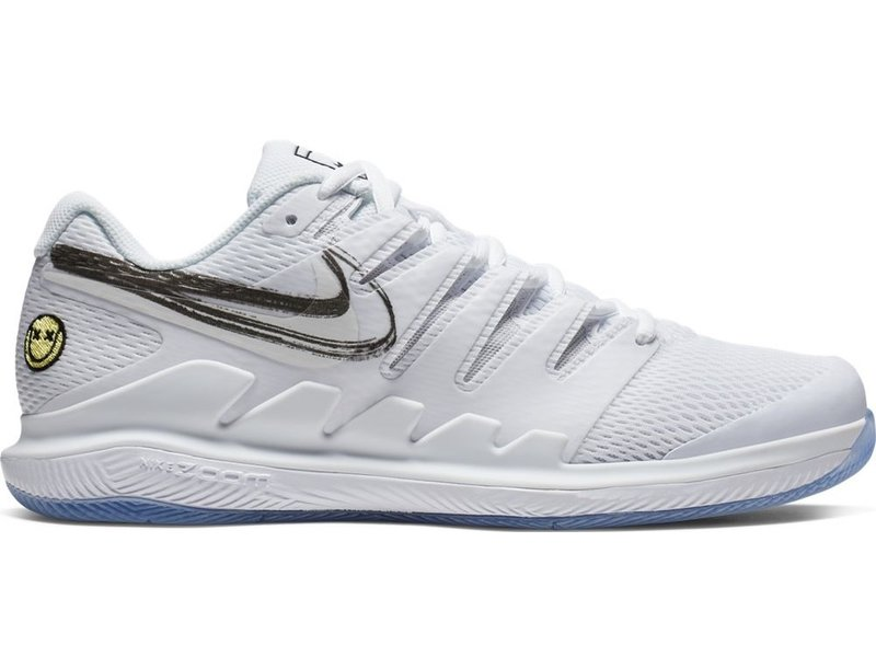Nike Men's Zoom Vapor X Summit Tennis Shoes White/Black