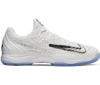 Nike Zoom Cage 3 Summit White/Black Men's Shoe