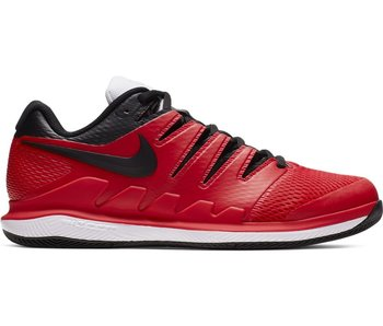 Nike Men's Zoom Vapor X Tennis Shoes University Red/Black/White