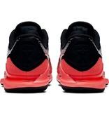 Nike Men's Zoom Vapor X Knit Tennis Shoes Black/Grey/Hot Lava