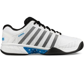 K-Swiss Men's HyperCourt Express Tennis Shoe White/Black/Blue
