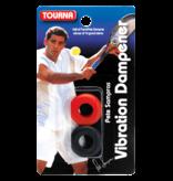 Tourna Pete Sampras Touna Vibration Dampener Black/red