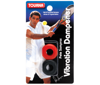 Tourna Pete Sampras Touna Vibration Dampener Black/red