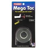 TournaGrip Mega Tac Overgrip 3 pack Black