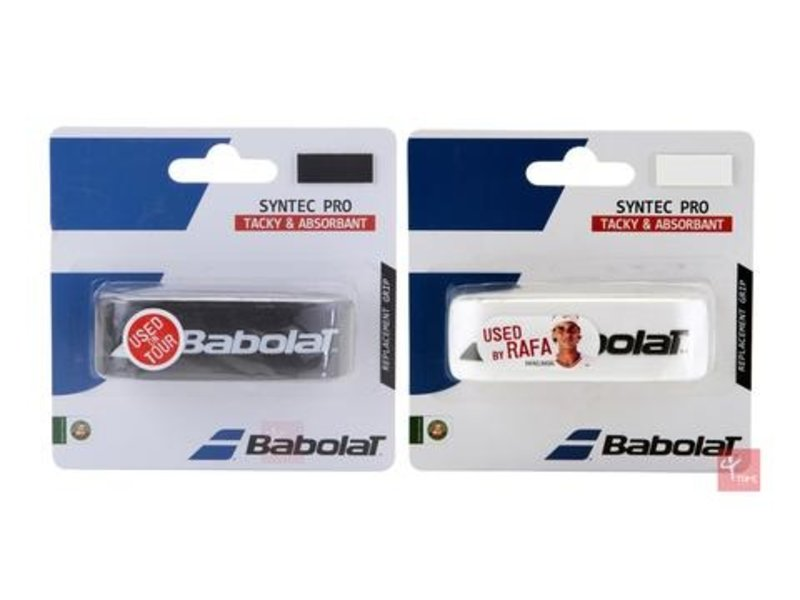 Babolat Syntec Pro Replacement Grip Black/White