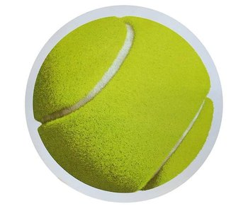 Fromuth Tennis Ball Car Magnet