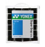 Yonex Super Grap 12 Pack Black Overgrips