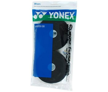 Yonex Super Grap 30 Pack Overgrips Black