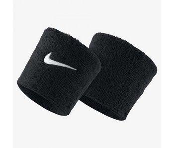 Nike Swoosh Singlewide Tennis Wristband Black