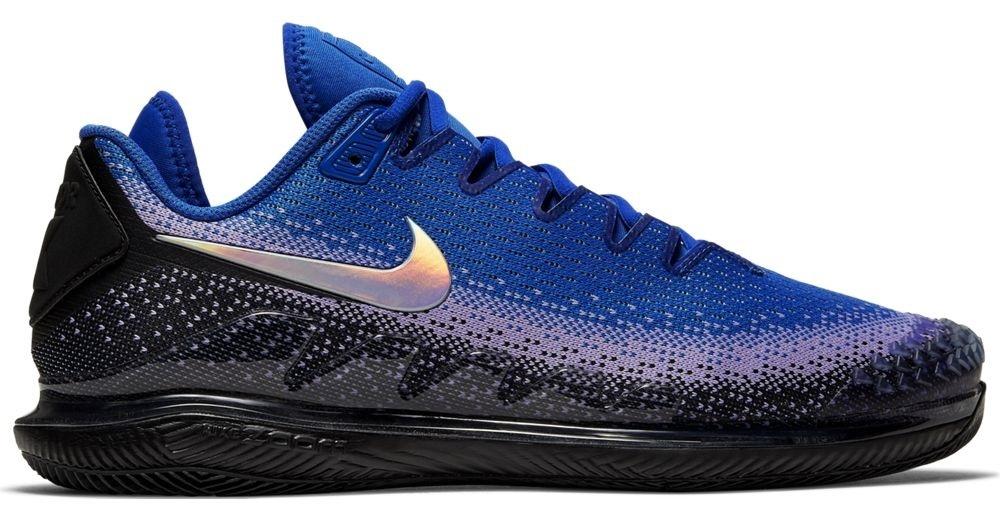 Zoom Vapor X Knit BlackMulti Color Racer Blue Men's Shoe