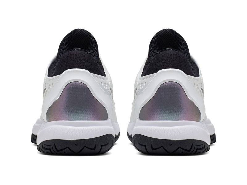 Nike Women's Zoom Cage 3 Tennis Shoes White/Bright Violet