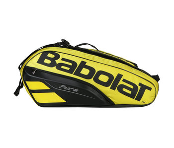 Babolat Pure Aero Racket Holder 6 Yellow/Black Tennis Bag