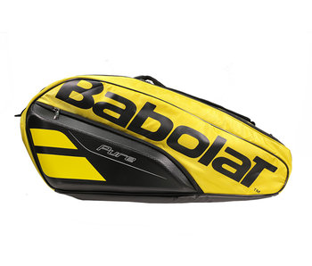 Babolat Pure Aero Racket Holder 12 Yellow/Black Tennis Bag