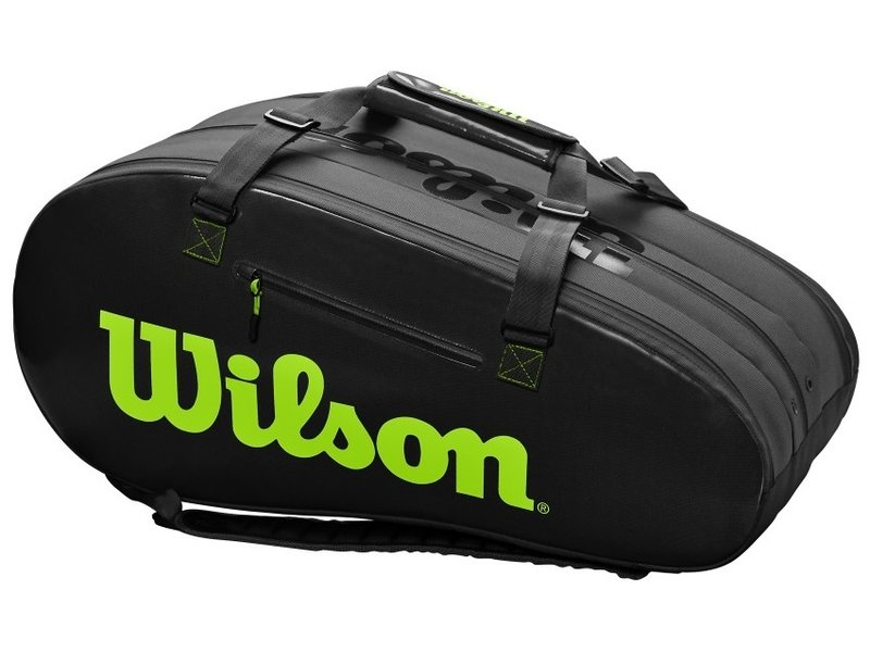 Super Tour 3 Comp Black Green 12 Pack Bag