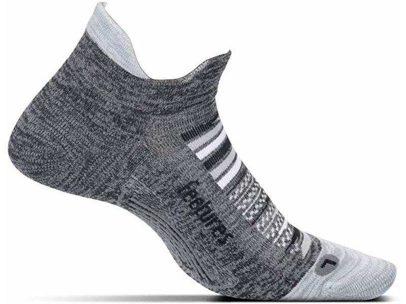 Feetures Elite Light Cushion No Show Tab Socks Night Sky Large
